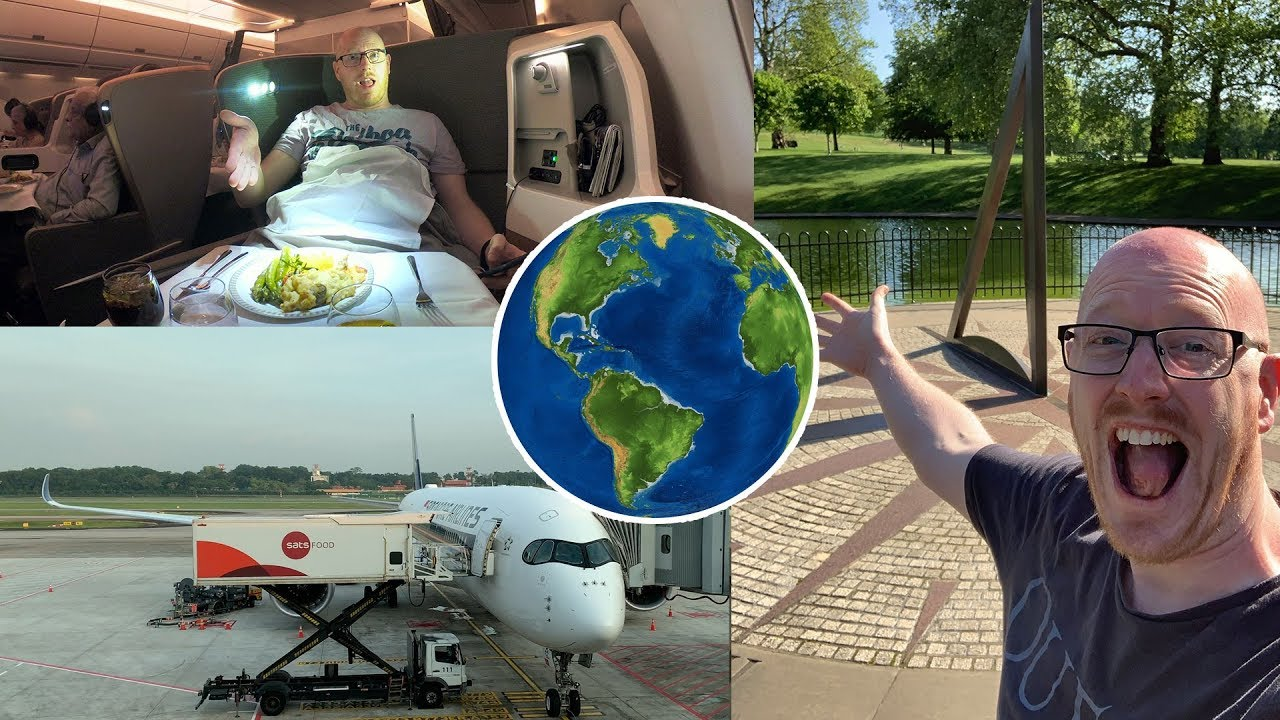 FLYING AROUND THE WORLD IN 80 HOURS! Business Class on the World's Best Airlines!