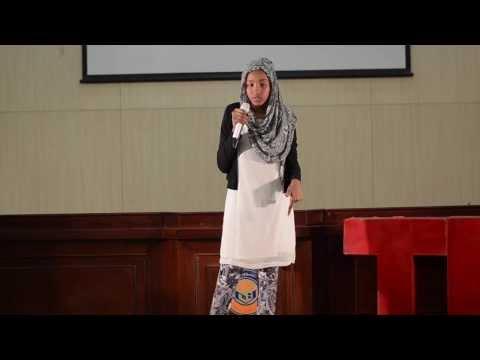 الشغف يؤدي إلى الإتقان: نفيسة أبو سمرة في TEDxYouth@Khartoum