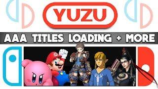 Switch Emulation | Yuzu | AAA Games - Xenoblade 2, Mario Odyssey, Zelda BOTW, Arms, Bayonetta 2 Video