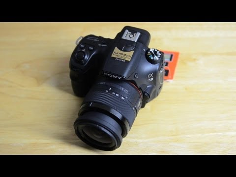 Sony SLT-A58 Review