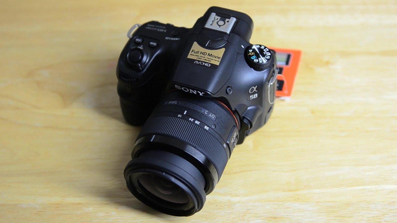 Camera Slt Camera Vs Dslr sony slt a58 review youtube