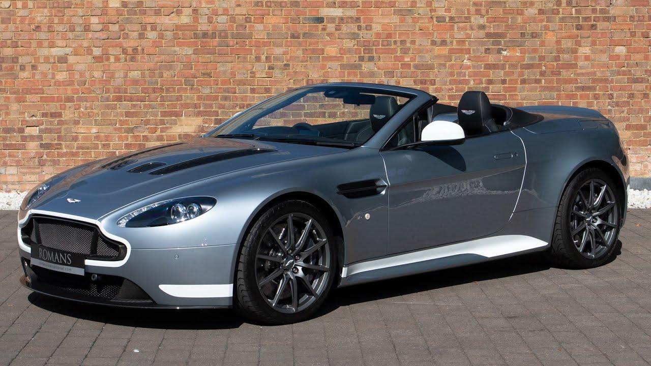 2017 Aston Martin V12 Vantage S Roadster Skyfall Silver Walkaround Interior 4k Youtube