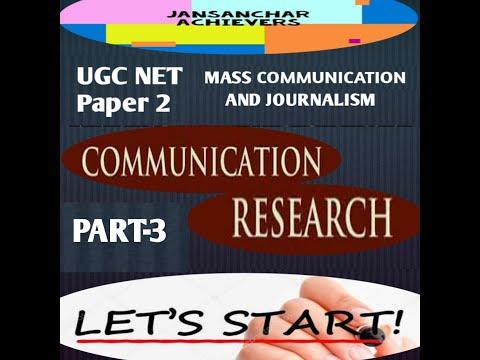 QUALITATIVE METHODS - COMMUNICATION RESEARCH UNIT 10 / UGC NET / MASS COMMUNICATION