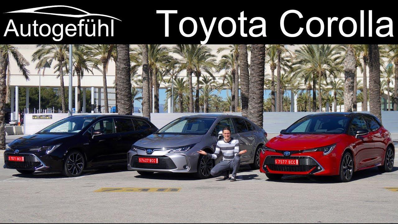 2020 Toyota Corolla Full Review Hatch Vs Sedan Vs Touring