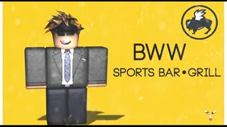 [ROBLOX] Buffalo Wild Wings Tour V2