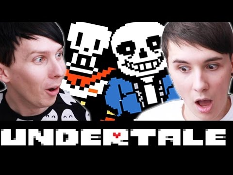 COMIC SANS AND PAPYRUS - Dan and Phil play: Undertale #2