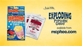 Exploding Popcorn Candy - Archie Mcphee