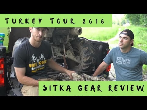 Sitka Subalpine Camo Hunting Gear Review | Turkey Hunting Season