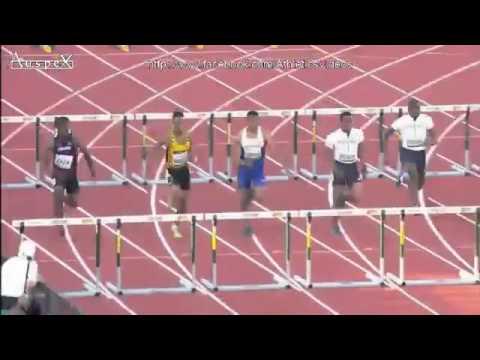 Wilhem Belocian  Record du Monde du 110 m haies