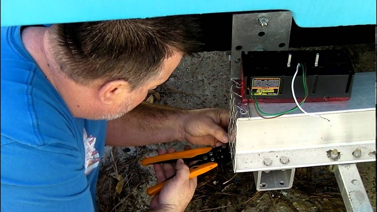 How To Install Led Trailer Lights Shorelander Wiring Harness Stoplights On Your Boat You