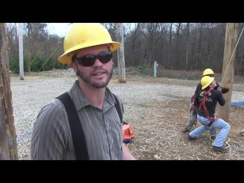 Nash Community College Electric Lineman Construction Program - Lineman Rodeo