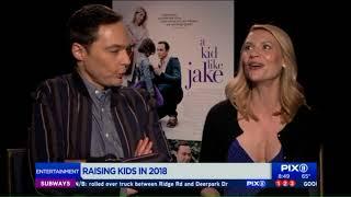 Cast of `A Kid Like Jake` talks raising kids, their childhood