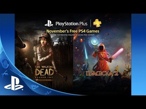 PlayStation Plus Free PS4 Games Lineup November 2015