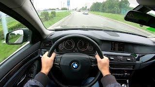 2013 BMW 520i POV TEST DRIVE
