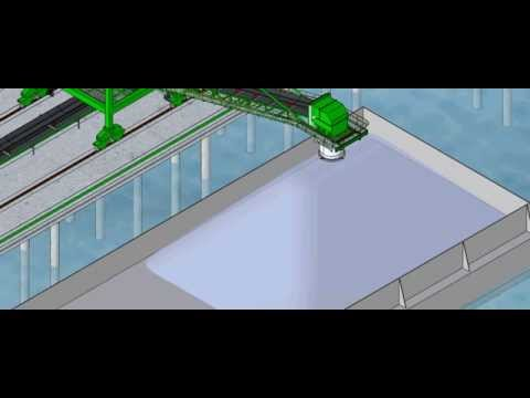 AE (PT. SK Metalindo) Material handling systems- Travalling Wing ship and barge loader