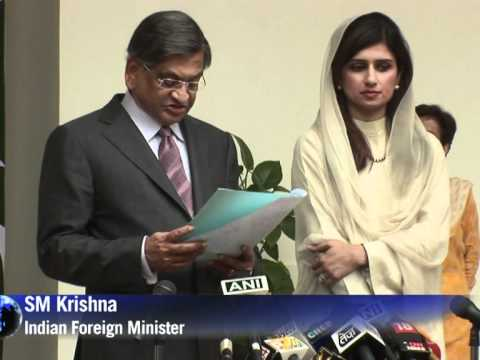 India, Pakistan ministers say ties on 'right track'