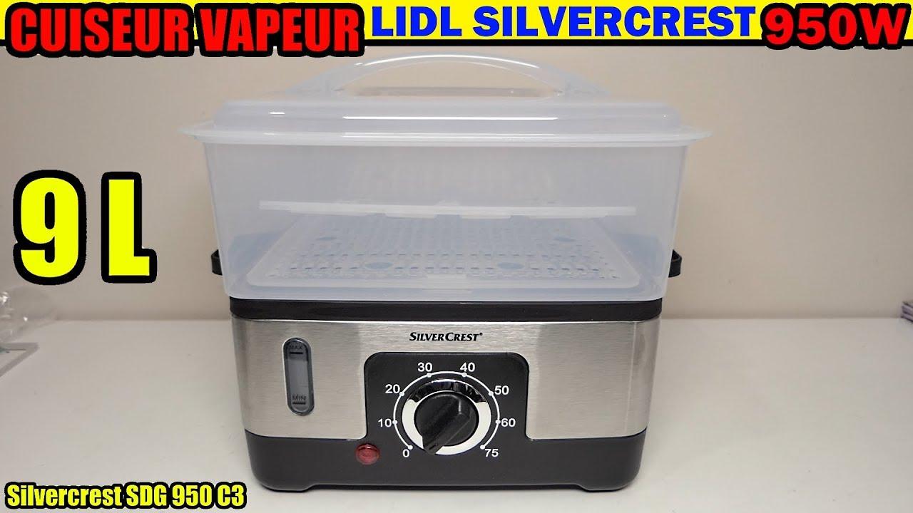 cuiseur vapeur LIDL SILVECREST SDG 950 C3 déballage