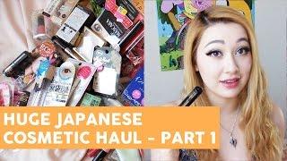 Haul: HUGE JAPANESE COSMETICS HAUL PART 01 - CANMAKE, MAJOLICA MAJORCA, RIMMEL, etc.