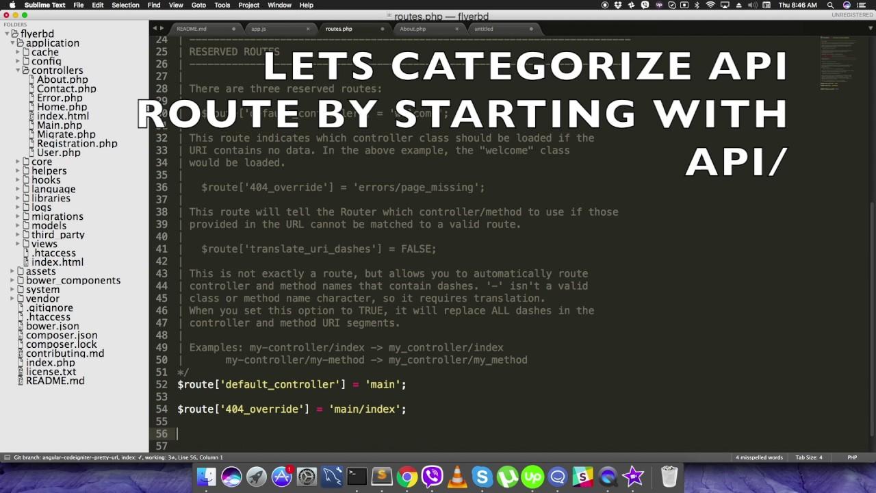 Angular Codeigniter Pretty URL