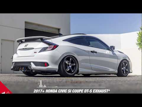 2017+ Civic Si Coupe with ARK Performance DT-S Exhaust - Audio Spectrum