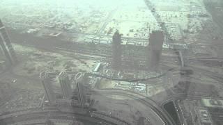 Burj Khalifa January 2011, in a sand storm