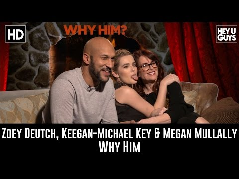 Megan Mullally, Zoey Deutch & Keegan Michael Key Exclusive Interview - Why Him
