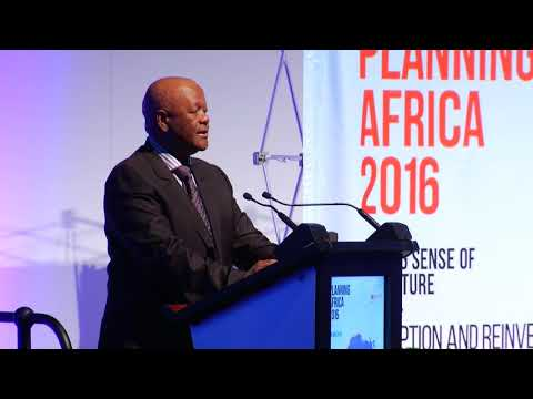 Planning Africa Conference 2016 Day 1 / Jeff Radebe