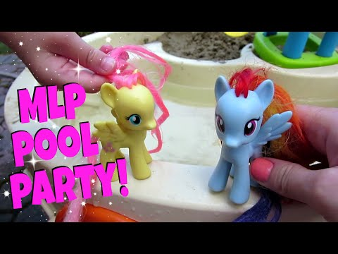 MY LITTLE PONY POOL PARTY! Ep. 4