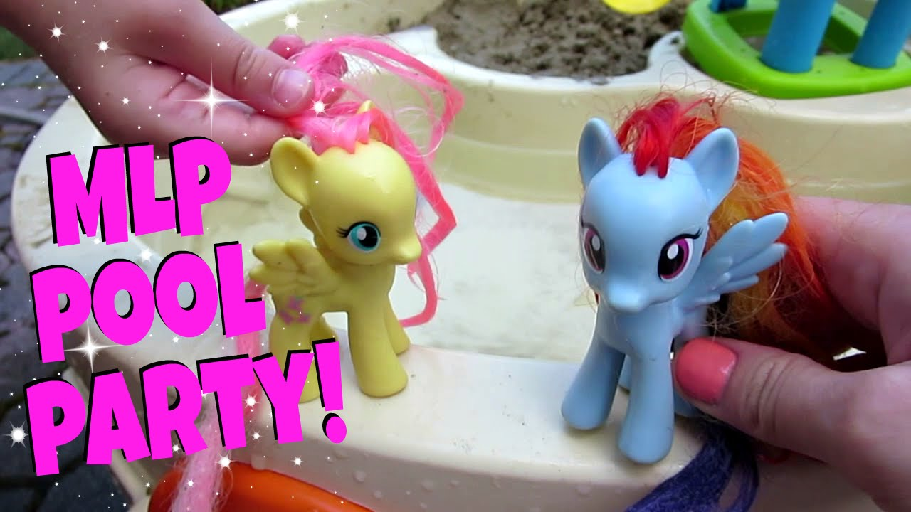 My little pony pool party ep 4 youtube - How to make a pool party ...