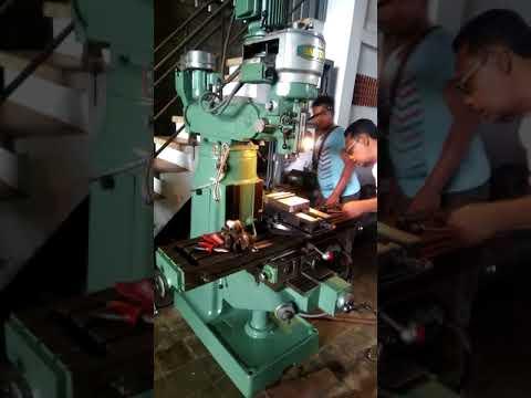 jual mesin milling nantong double setick scnd