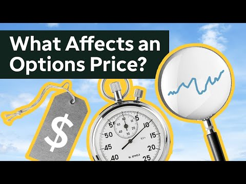 How Options Pricing Works | Trading Options Course