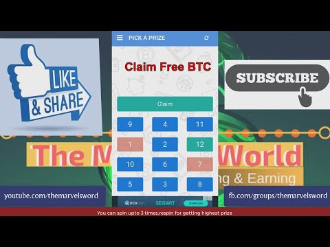 Claim Free Bitcoin Every 15 Minutes \u0026 Get 100% Payment || The Marvels World