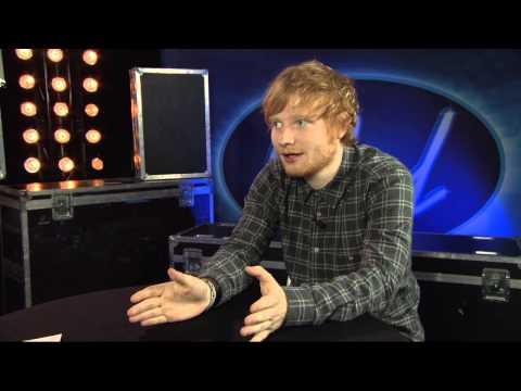 "Ed Sheeran: ""You guys just rule"" - Idol Sverige (TV4)"