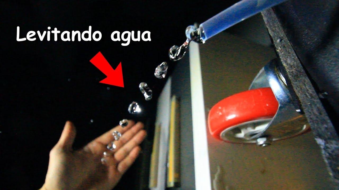 Levitando Agua y Rompiendo Cristal con FRECUENCIAS - Como Funciona