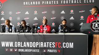 Orlando Pirates Soweto Derby presser 22/10/2018