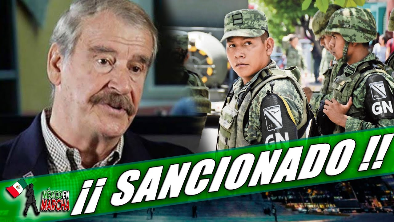 Después De Vínculos Con Delincuentes, Sancionan A Vicente Fox!! No Saben Si Lo Pueda Soportar!!