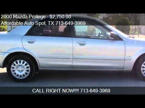 2000 Mazda Protege for sale in Houston, TX 77087 at the Affo