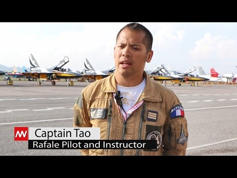 Rafale Fighter - interview with captain Tao