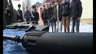 «Урок Мужества» прошел на базе ОМОН МВД по ЧР