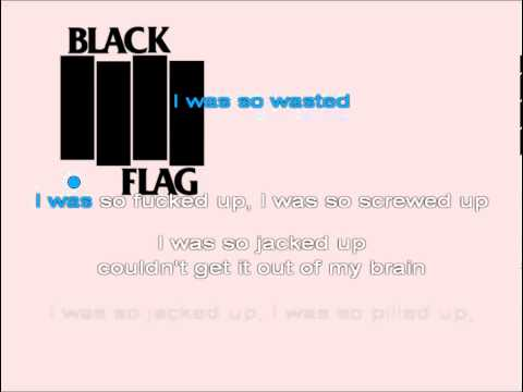 Karaoke Punk - Wasted by Black Flag