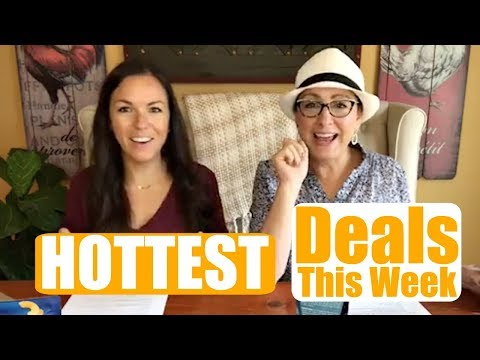 Hottest Deals this Week! LIVE WITH CINDY AND MEGAN