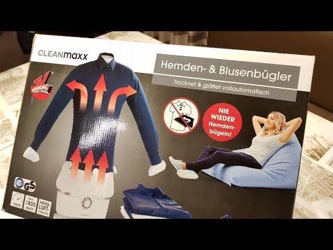 34b21d3c72a92 Cleanmaxx Hemdenbügler -- Test -- wie gut ist er wirklich   - YouTube