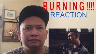 Sam Smith - BURNING ( Live At The Hackney Round Chapel) - REACTION