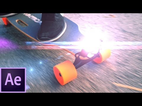 After Effects Tutorial: Police Light Effects With Optical Flares