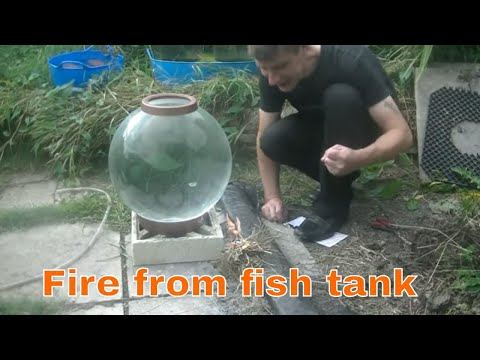 Fire From A Fish Tank!!!