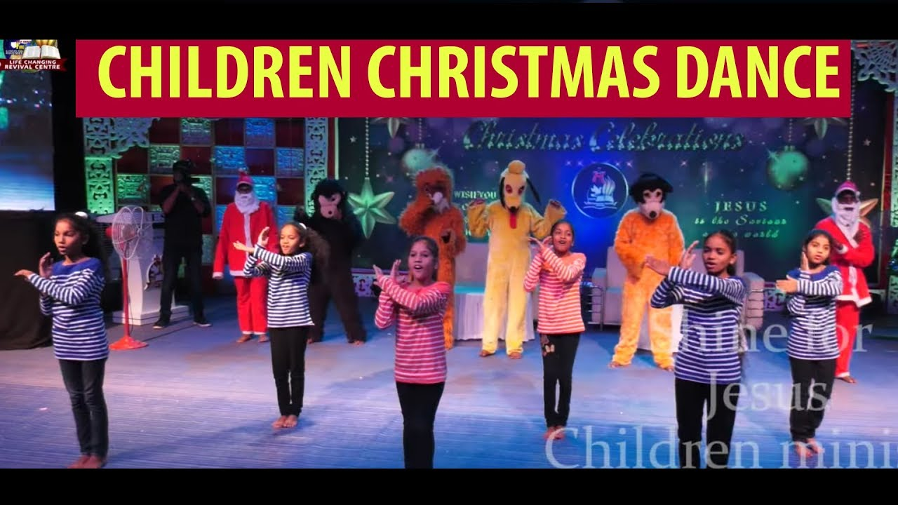 Lord I Lift Your Name on High - Children Christmas Dance |Life Changing Centre|