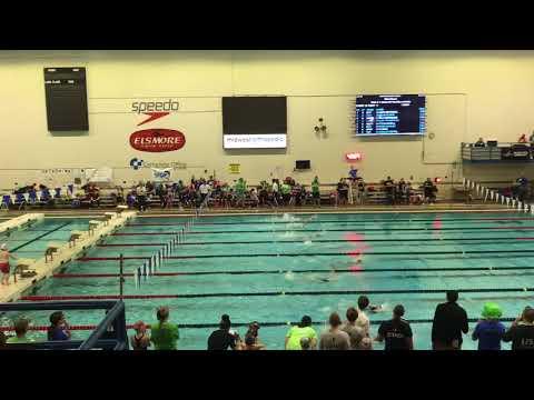 Finley's 25 back stroke state swim