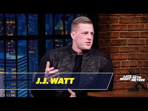 Theresa - JJ Watt Left the Super Bowl Before it Even Started