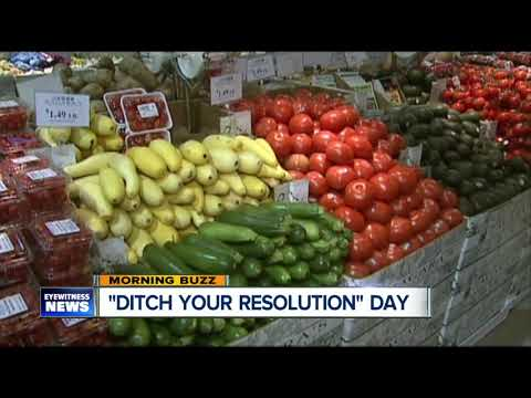 Morning Buzz: Are you ditching your New Year's resolutions already?