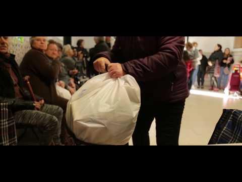 Entrega de cabazes de Natal - Junta de Freguesia de Campolide